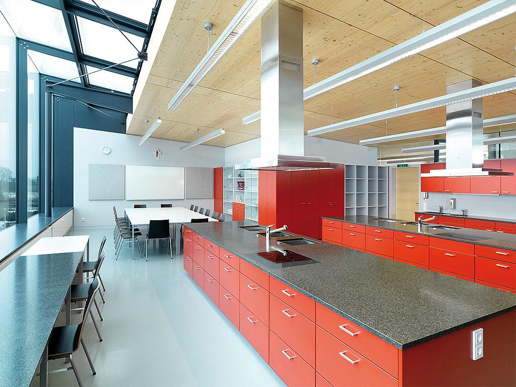 Учебная кухня и столовая