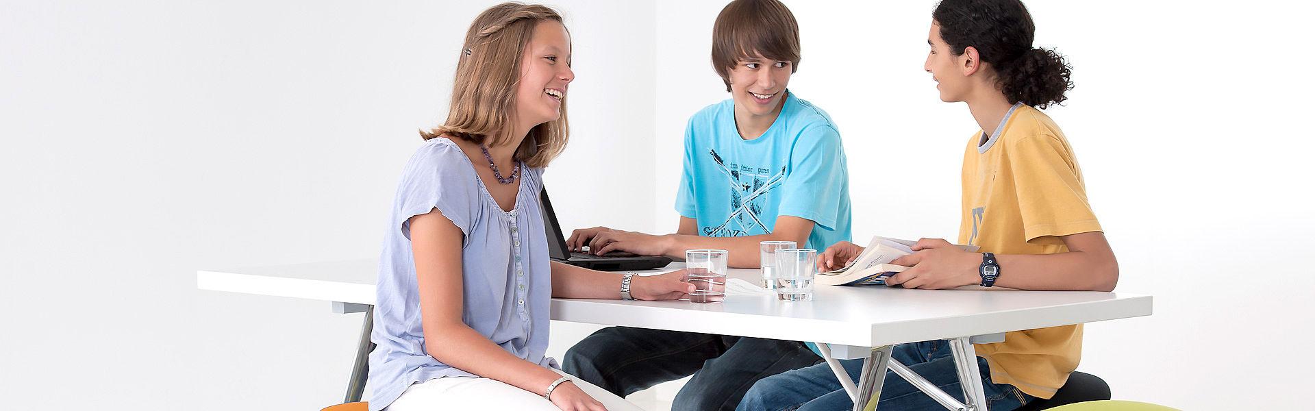Беседа за столом
