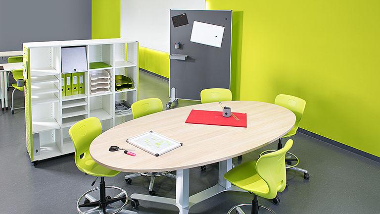 Учебный класс со столом COMBO