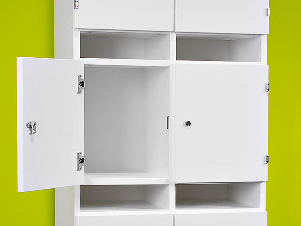 Шкаф с полимерно-порошковым покрытием
