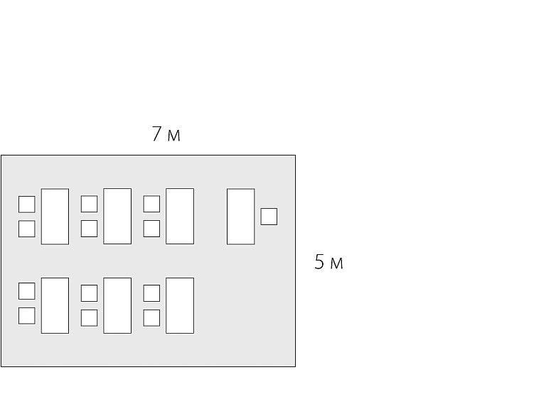 планировка помещения 35 м2