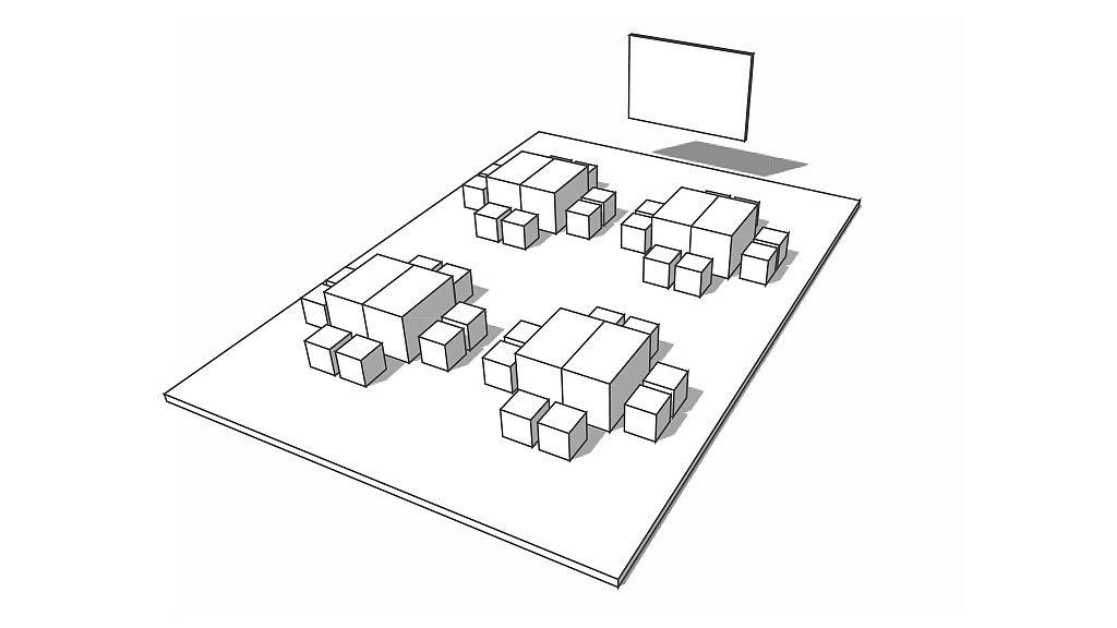 Схема работы в группах
