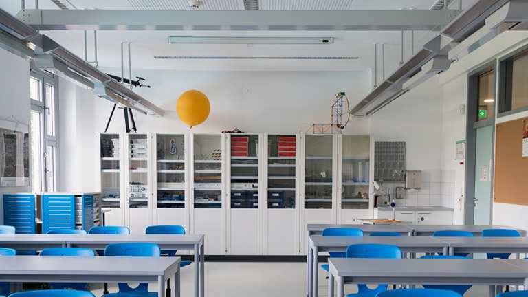 Немецкая школа, физика