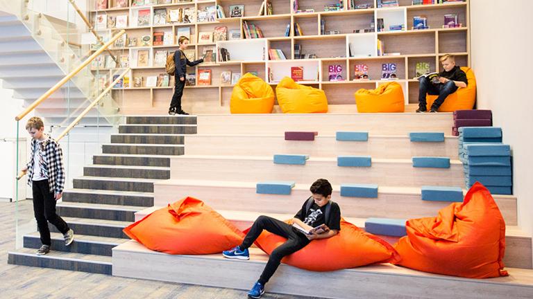 Хорошкола, библиотека