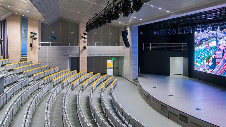 школа 548, концертный зал